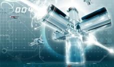 科技之柱图片