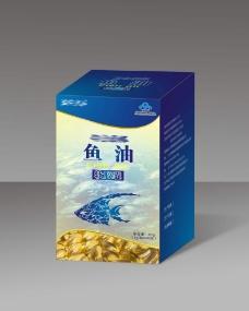 鱼油胶囊(平面图)图片