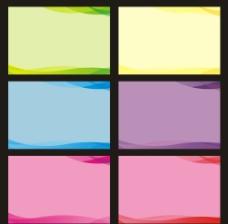 6种矢量底色图片
