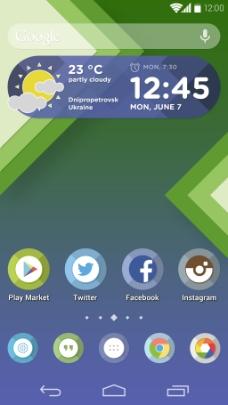清新手机APP界面
