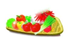 蔬果拼盘图片