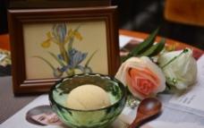 榴莲冰淇淋图片