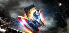 美国队长海报图片