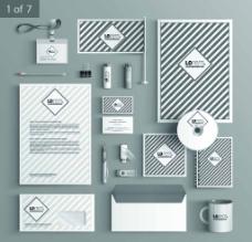 条纹VI设计图片