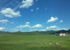 车窗外的景色图片