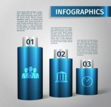 创意数字分类信息图表图片