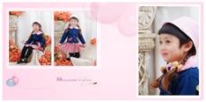 妈咪的美丽小天使儿童相册高清PSD