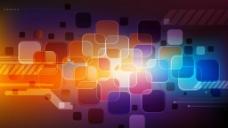 科技光斑方块图片