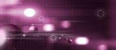 炫紫色科技背景图图片