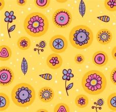 兒童服飾卡通花紋循環圖片