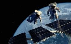 空间站 宇航员图片