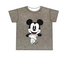 儿童服饰卡通印花短袖源文件图片