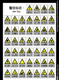 警告标识 标志图片