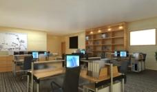 办公室模型图片