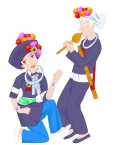 阿昌族图片
