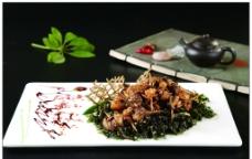 草原腰煲虾图片