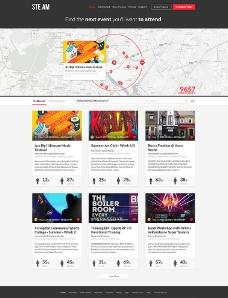 精美网站模板图片