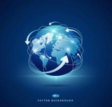 地球商务球型设计源文件图片