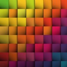 方形抽象背景