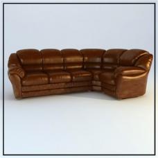 俄罗斯家具特色沙发3D模型素材