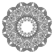 精美欧式花纹图片