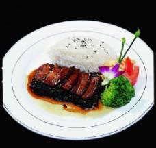 梅干菜扣肉饭图片